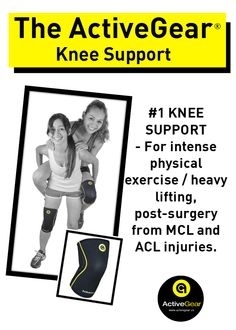 Get Your ActiveGear Knee Brace Support Heavy Duty Neoprene Sport Compression Sleeve (4 Sizes).  #activegear #fitness #sport #healthy #amazon.com