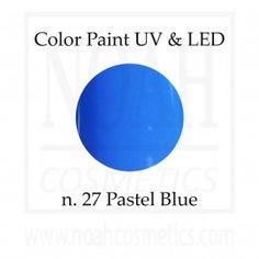 Color Paint UV GEL n.27 Pastel Blue