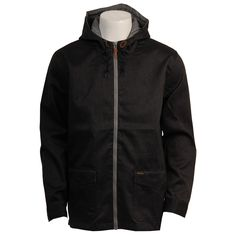 Oneill Mens Jacket Portland Grey