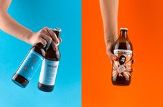 Hedon Craft Brewery Identity - Art Direction on Behance Photograohy styling, beer label design by Flying Objetsd