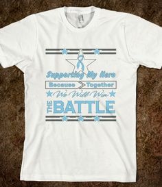 Prostate Cancer Supporting My Hero Shirts #ProstateCancer #ProstateCancerawareness #ProstateCancersupport
