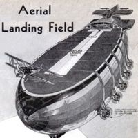"""The Aerial Landing Field"" from Modern Mechanix, October Dark Roasted Blend: Airship Dreams, Part 1 Steampunk Airship, Dieselpunk, Victorian Steampunk, Steam Punk, Concept Ships, Concept Art, Photo D Art, Deck, Retro Futuristic"