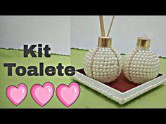 Como Fazer Kit Toalete de Pérola - Silvania Andrade - YouTube
