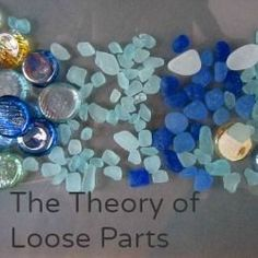 The Theory of Loose Parts: Using simple materials to enhance play #reggioinspired #looseparts