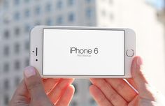 Graphic Design - Graphic Design Ideas  - iPhone 6 In Hand PSD Mockup by Medialoot on Creative Market   Graphic Design Ideas :     – Picture :     – Description  iPhone 6 In Hand PSD Mockup by Medialoot on Creative Market  -Read More –