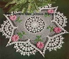 Image result for crochet doilies and patterns