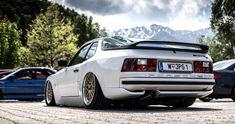 Porsche 944 S2 Austrian spec, lowered with BBS LeMans wheels