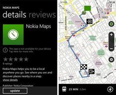 Nokia Maps actualizado para Nokia Lumia 900 / 800 / 710 / 610 http://www.aplicacionesnokia.es/nokia-maps-actualizado-para-nokia-lumia-900-800-710-610/