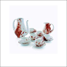 HOME: I would use this tea set daily. I wish there were some coffee mugs as well.