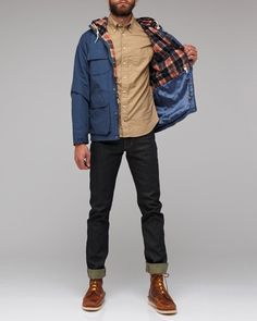 My man would look good in this! So stylish and manly for fall!