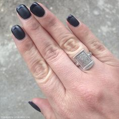 Dirtnap Gravestone Ring by Luke Adore Black French Manicure, Matte Black, Rings For Men, Silver Rings, Jewels, Style, Swag, Men Rings, Stylus