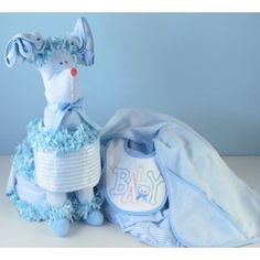 Puppy Love Baby Diaper Cake