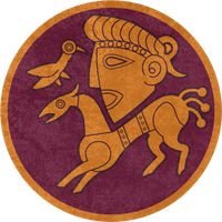 Total War: Rome 2 ~ Suebi Faction Symbol by Undevicesimus on DeviantArt Iceni Tribe, Flag Icon, Total War, Rome, Kids Rugs, Symbols, Culture, Deviantart, History