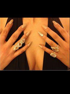 Jennifer Lopez's Nail Art