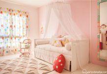 De verde para rosa: arquiteta mostra a reforma do quarto da filha