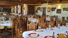 Amplio comedor del @Rtejarpar con capacidad para 98 personas donde poder celebrar #comunion #boda #bautizo #grajera #segovia