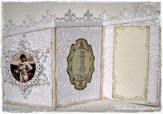 Vintage Z-Fold Card 1 Shaped Cards, Albums, Vintage World Maps, Shapes, Frame, Home Decor, Picture Frame, Decoration Home, Room Decor