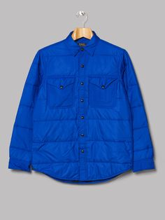 Polo Ralph Lauren Padded Overshirt (Sapphire Star)