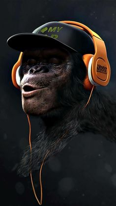 Love myself, the king kong banging on his chest never be defeated, put on (t)his music Animal Wallpaper, Mobile Wallpaper, Wallpaper Backgrounds, Gorilla Wallpaper, Lion Wallpaper, Foto Top, Monkey Art, Monkey King, Creation Art