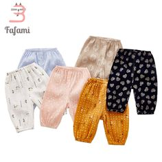 ad29306ae9a Baby Pants Anti-mosquito for Newborn baby clothes Light Cotton baby  leggings girl boy pant Baby Summer clothing bloomers bebe