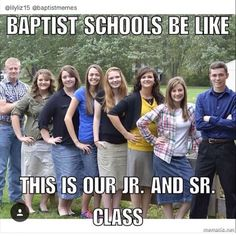 LOL this is exactly what my school was like!!!! 30 of us in the whole high school!