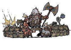 Warhammer Dwarfs, Warhammer Art, Warhammer Fantasy, Fantasy Dwarf, Fantasy Battle, Age Of Sigmar, Geek Humor, Fantasy Artwork, Character Design Inspiration