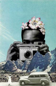 La revelación de las montañas: ya era hora que después de tantas, tantas y tantas fotografías, sean ellas las que lo hagan. Me encanta éste concepto, es curioso y divertido | Sajjad Musa