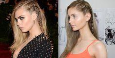 Cara Delevingne Hair Tutorial + How to Braid
