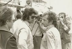 Brothers-in-law Francois Cevert and Jean-Pierre Beltoise