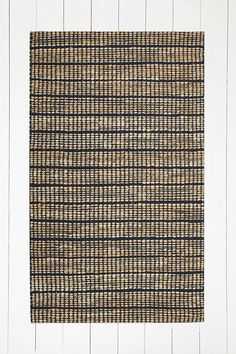 Woven 3x5 Mustard Rug - Urban Outfitters