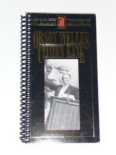 Citizen Kane VHS Movie Notebook