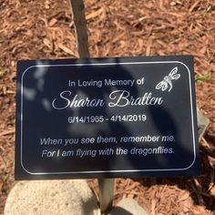 Memorial Garden Plaques, Tree Poem, Memorial Markers, Personalized Plaques, Memory Tree, Garden Markers, Outdoor Signs, Garden Signs, In Loving Memory