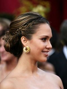Braided Bun Hairstyle | Braided Bun Hairstyles: Braided Updos Pictures and Tips