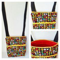Emoji Crossbody bag Sling bag by DesignsbyCristal on Etsy
