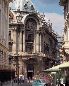 Bucharest - Romania #explore #romania🇹🇩 #bucharest . . . . . . . . . . . #europe #eurotrip #roadtrip #european #europe_vacations… Classic Architecture, Landscape Architecture, Romania Bucharest, Road Trip, Fate Stay Night Anime, Europe, Bulgaria, Croatia, Belgium