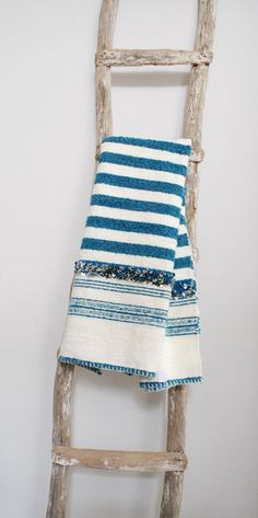 This #Moroccan striped #wool throw is so #cozy and #glamorous. Available at Maryam Montague's online #Souk! #Free shipping to the #US, #Canada, and #Europe!