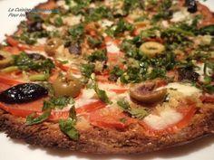 Pizza à la pâte de Chou Fleur