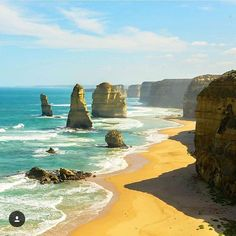 If you could just jump in a car and go on a road trip where would you go?  The 12 Apostles on the Great Ocean Road are a must see   Tag @gogetbucket for a feature!  Location: Great Ocean Road Australia  Photo credit: @anthony_lecomte  #12apostles #greatoceanroad #australia #ocean #sea #beach #paradise #exotic #tropical #lush #beautiful #stunning #gorgeous #roadtrip #explore #discover #adventure #travel #bucketlist #wanderlust #globetrotter #gogetbucket #igtravel #instatravel #instapassport…