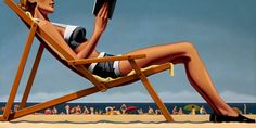 """kenton nelson   Kenton Nelson,""""Why Not"""", Oil on canvas, 60"""" x 48"""""""