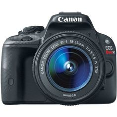 $599.00 Canon EOS Rebel SL1 18.0 MP CMOS Digital SLR with EF-S 18-55mm IS STM Lens: CANON - A Steal...