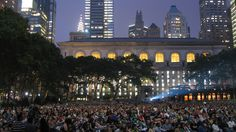 Movies in the park: HBO Bryant Park Summer Film Festival