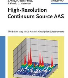 High-Resolution Continuum Source Aas: The Better Way To Do Atomic Absorption Spectrometry PDF