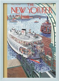 The New Yorker Cover - March 25, 1939 Poster Print