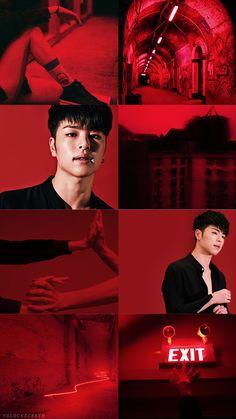 Welcome to YG Family Lockscreen World ! Chanwoo Ikon, Hanbin, Ikon Wallpaper, Wallpaper Lockscreen, Koo Jun Hoe, Ikon Kpop, Fandom, Cnblue, Backgrounds
