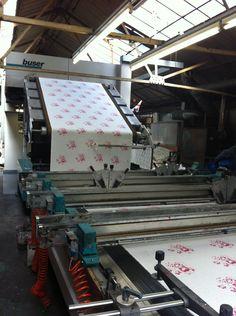 British textile manufacturing
