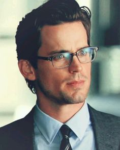 Matt Bomer looks so different with glasses, more like a professor.  LOL Def. my favorite teacher of all time!