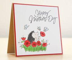 Penny Black Mother's Day Card by Silke Shimazu - Cards and Paper Crafts at Splitcoaststampers