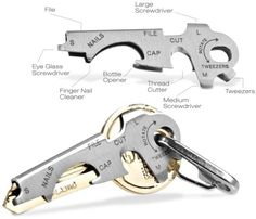 Mens Gadgets - KeyTool - Key Ring Tools -Multi purpose key tool, one of a Range of True Utility Mens Gadgets Mens Gadgets, Cool Gadgets, Unique Gadgets, True Utility, Things To Buy, Stuff To Buy, Edc Gear, Gadget Gifts, Everyday Carry