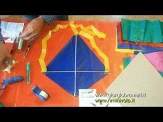 Come fare un aquilone in pochi minuti (TUTORIAL) - YouTube
