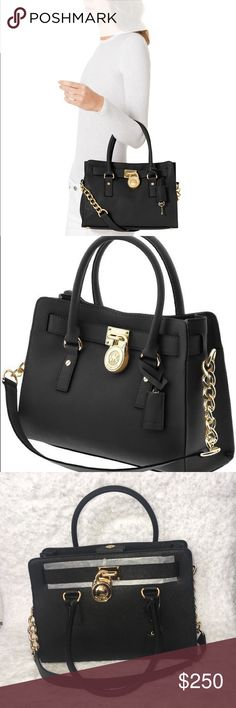 947570bab8ef Michael Kors Blk Leather Hamilton Satchel Brand new great back must have for  upcoming seasons MICHAEL Michael Kors Bags Satchels